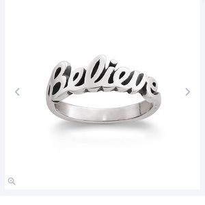james avery believe ring